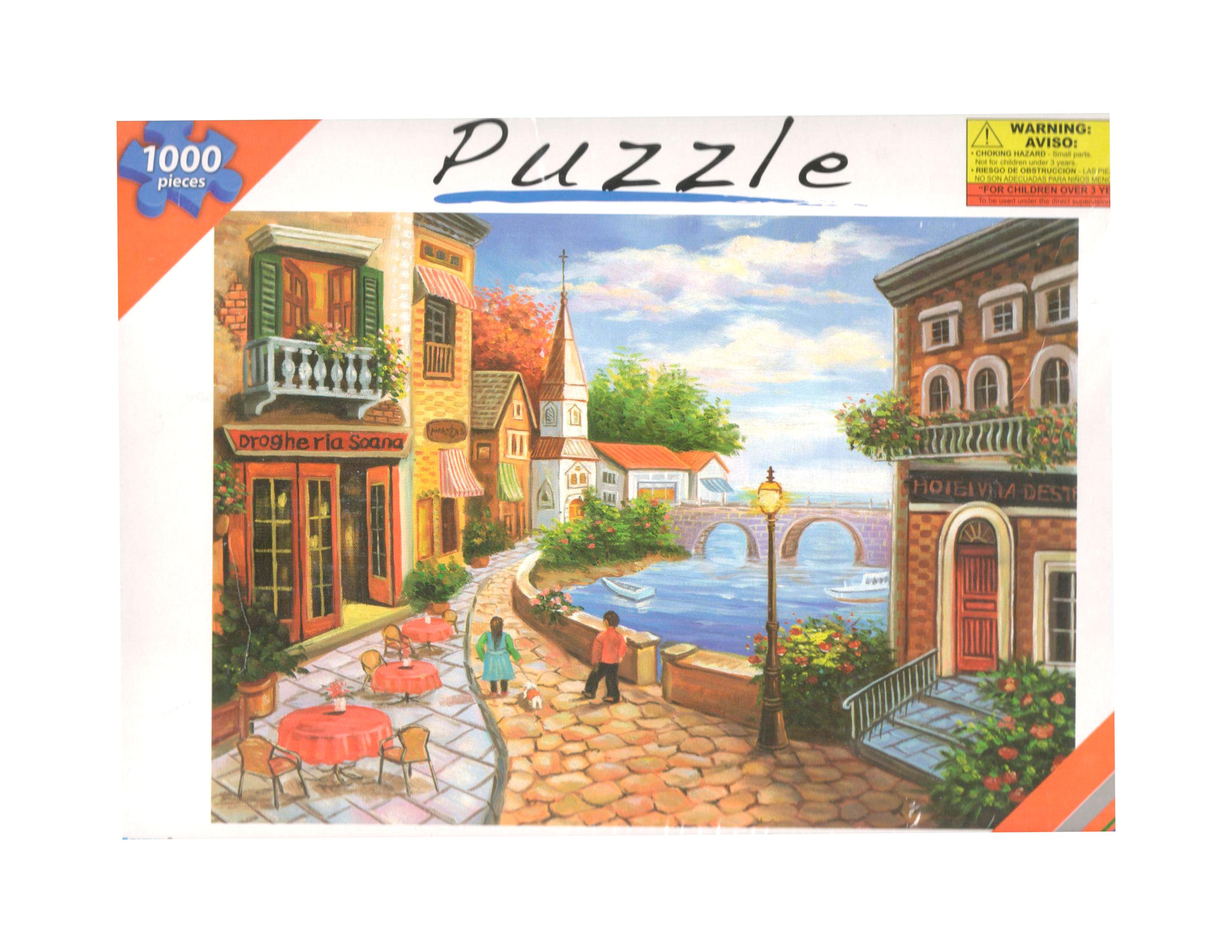ROMPECABEZAS 1000 PCS 3JE3-2037