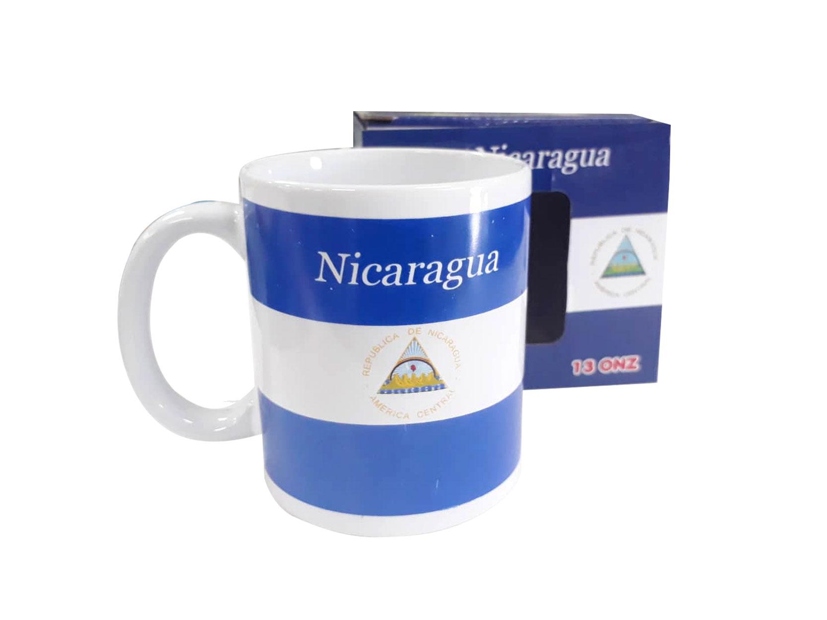 TAZA DE PORCELANA NICARAGUA H307-036