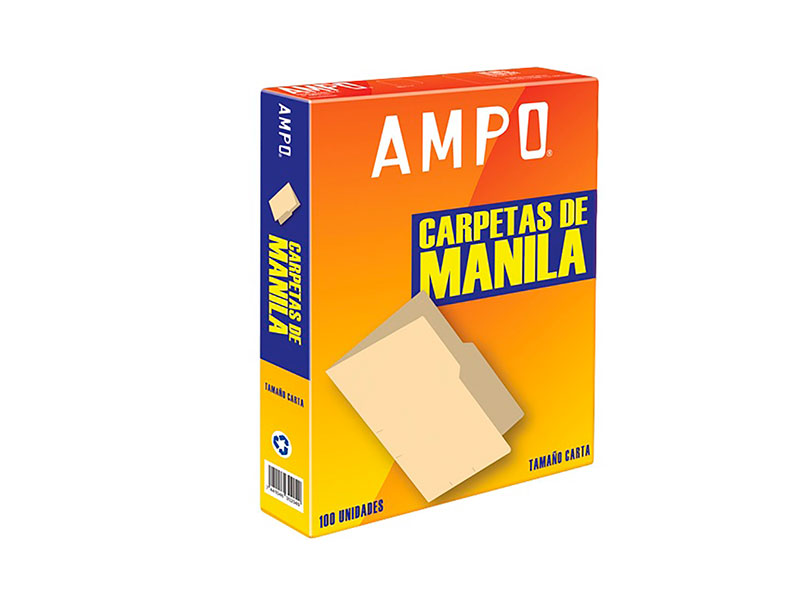 FOLDER MANILA T/CARTA