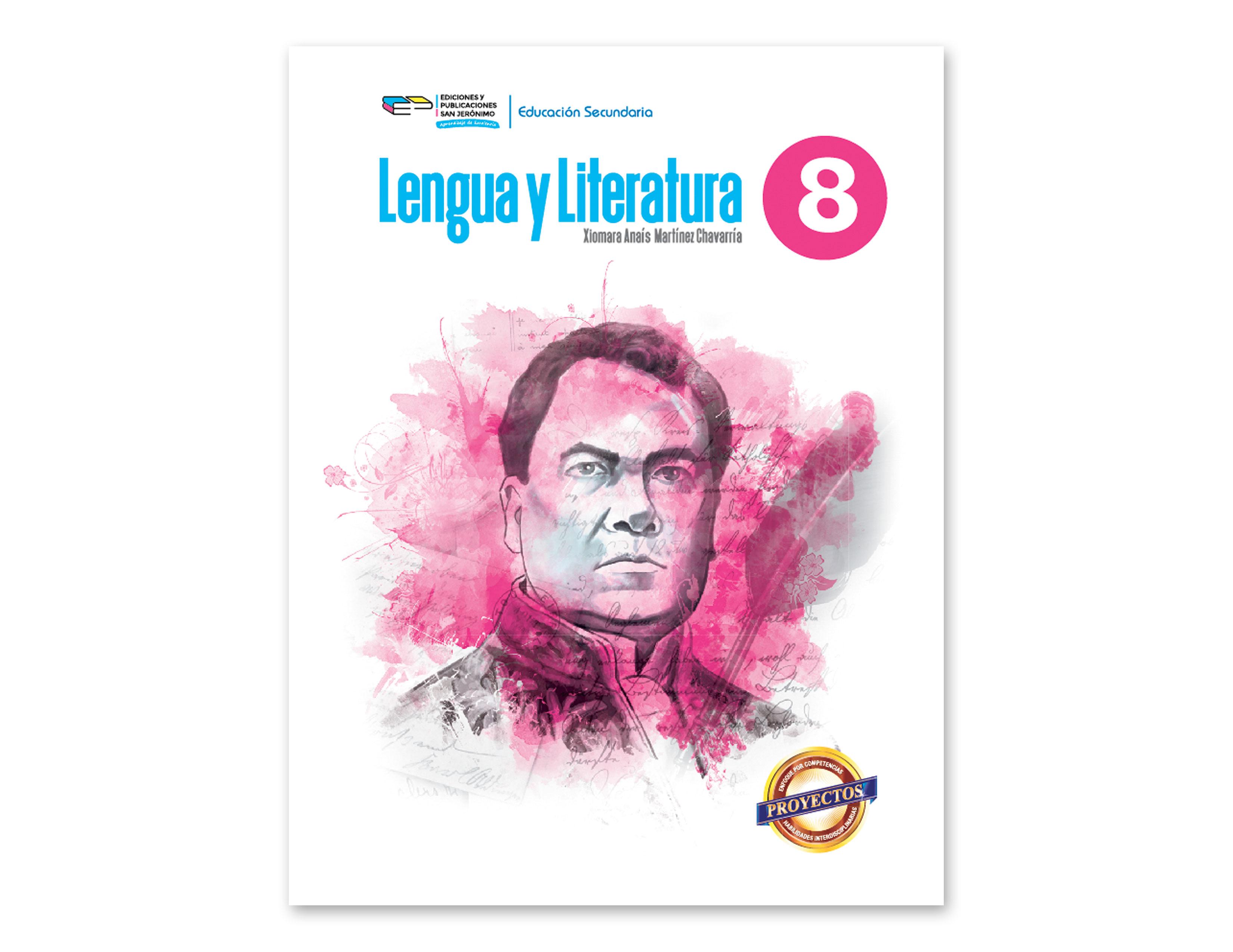 LIBRO LENGUA Y LITERATURA 8VO