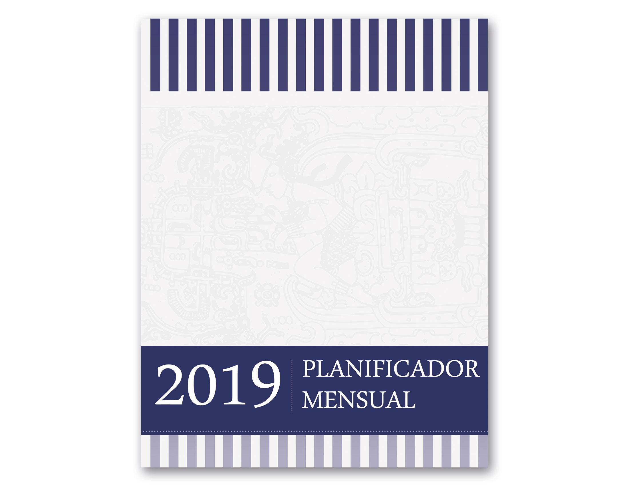 PLANIFICADOR MENSUAL 2019